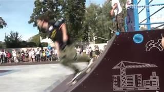 В Орле открылся первый скейт-парк: что скажут экстремалы?