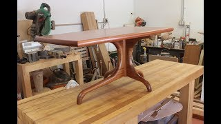 Making a Sam Maloof Inspired Coffee Table