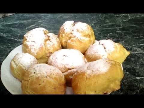 Как приготовить заварные пирожные с кремом в домашних условиях вкусно и просто без регистрации и смс