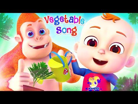 Growing Vegetables Song | Learning Videos For Kids | Nursery Rhymes & Kids Songs