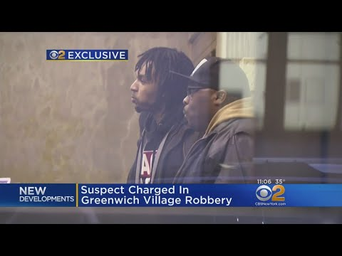 Man Charged In Greenwich Village Mugging