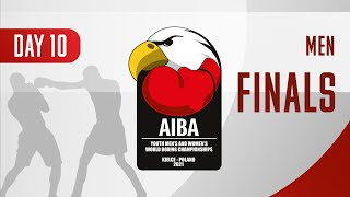 AIBA Youth Men's and Women's World Boxing Championships Kielce 2021 | Day10 | Finals | Men