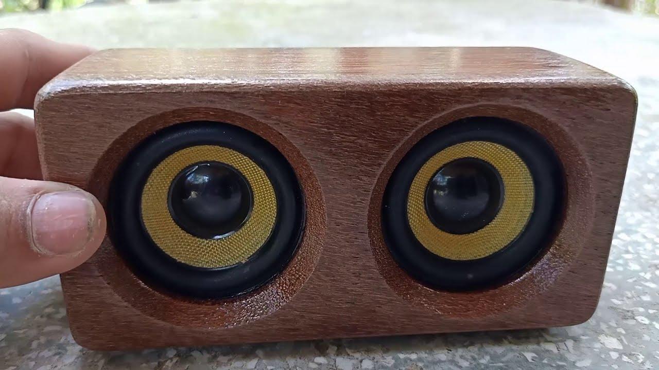 DIY 2x5w Mini Bluetooth speaker - YouTube