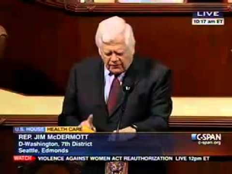 Rep. Jim McDermott on Insurance Premiums