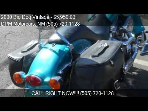 2000 Big Dog Vintage  for sale in Albuquerque, NM 87108 at t