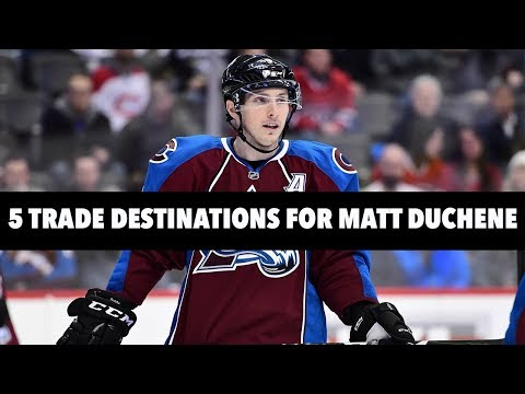 5 Teams That Could Trade For Matt Duchene!