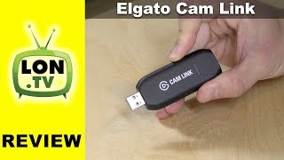 Elgato Cam Link + Panasonic G7 + Windows 10 Camera - Low Light Video