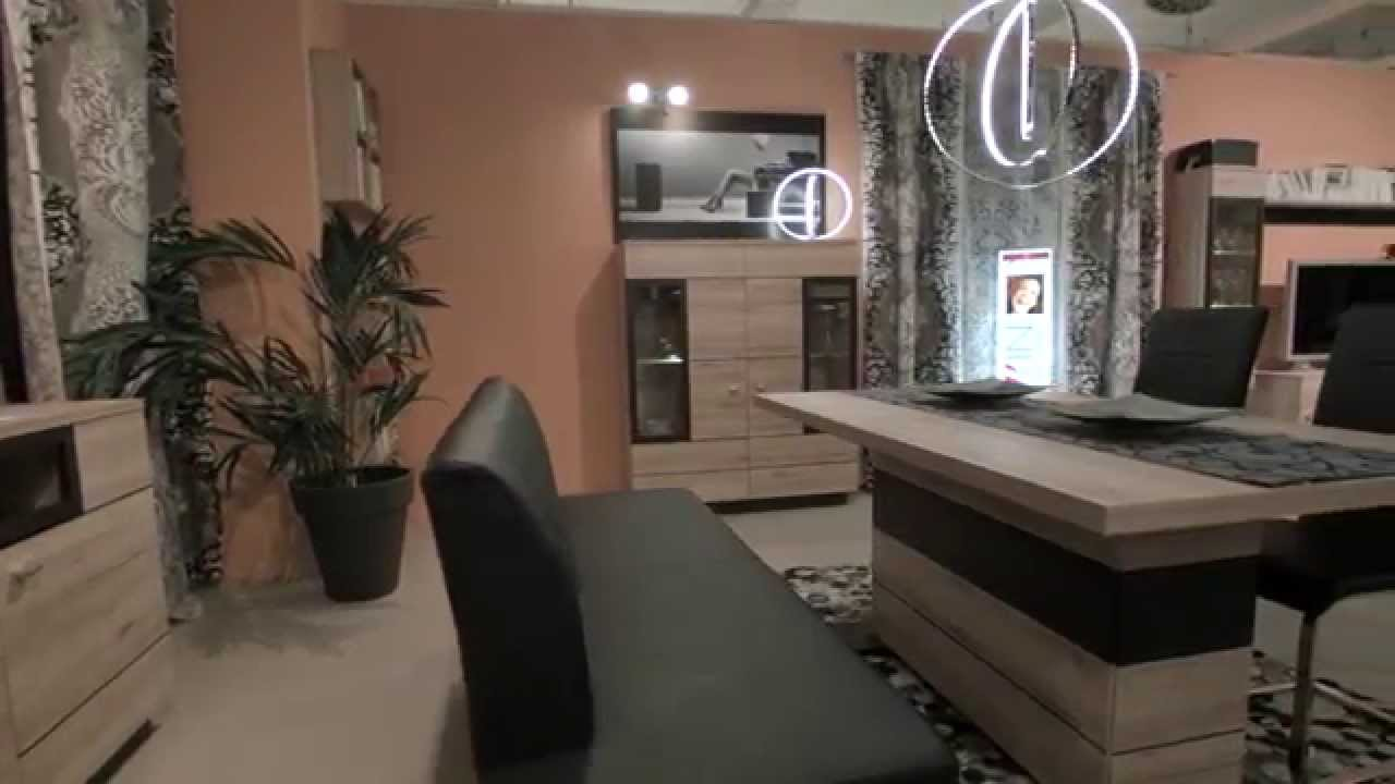trends livin wohnwand vitrine sideboard celano youtube. Black Bedroom Furniture Sets. Home Design Ideas