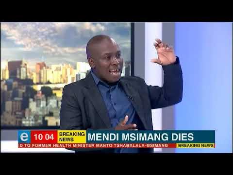 ANC struggle hero Mendi Msimang dies