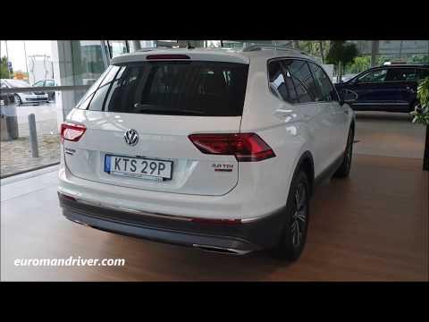 Most High-Tech Volkswagen Tiguan 2020 - VW Tiguan Review 2019 (Allspace )