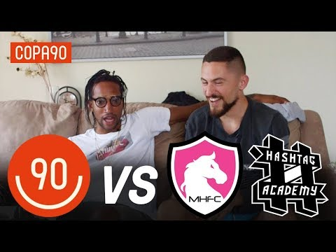 Copa90 FC vs Mongolian Horses FC & Hashtag Academy! | Next Level Football League