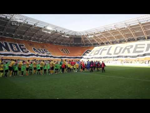 15. Spieltag   SGD - FCM   Choreografie