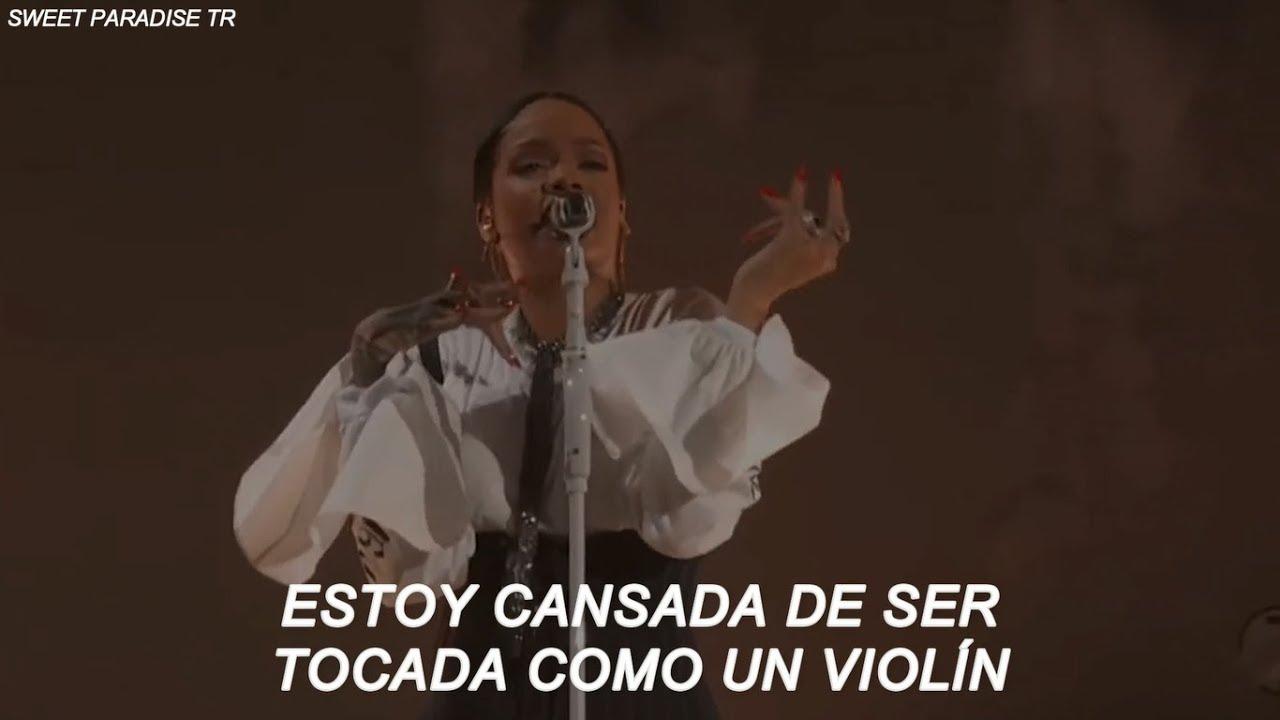 Rihanna Love On The Brain Letra Traducida Espanol Rihanna Age Albums