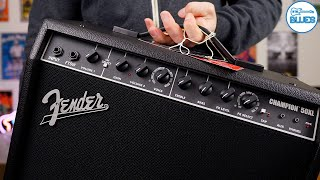 Fender Champion 50XL Unboxing & First Impressions