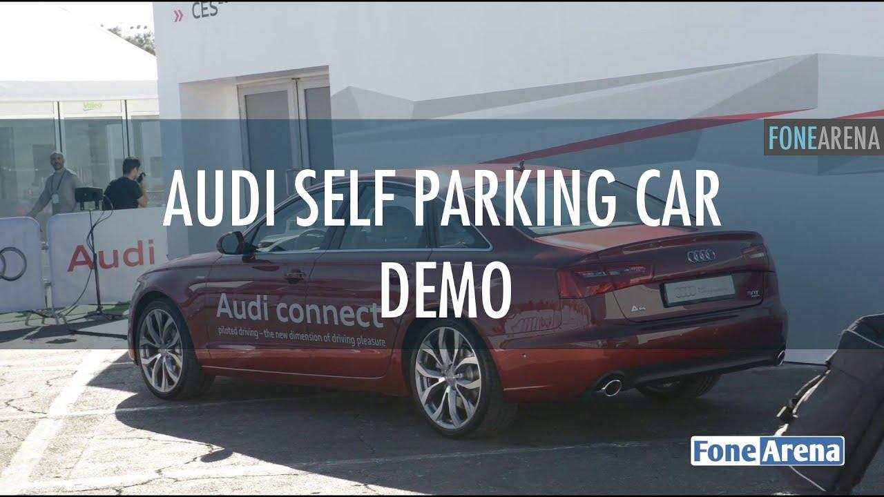Audi Self Parking Car YouTube - Audi self parking