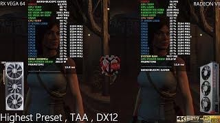 AMD RX VEGA 64 Sapphire Nitro VS RADEON VII Comparison | i7 8700K 5.2GHz