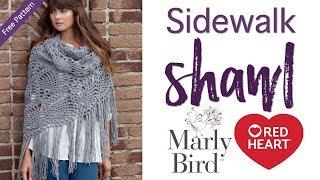 How to Crochet: Sidewalk Shawl