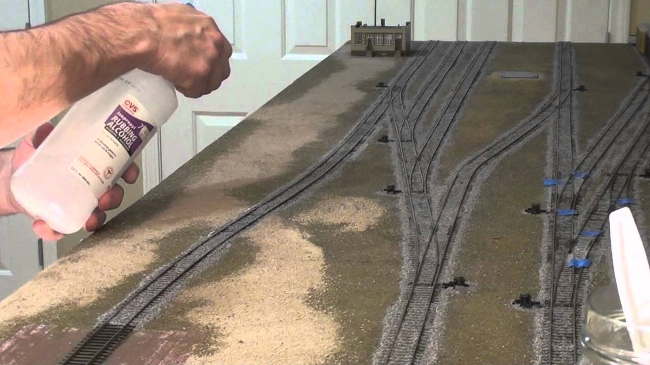 Tutorial How To Ballast Ho Track Youtube