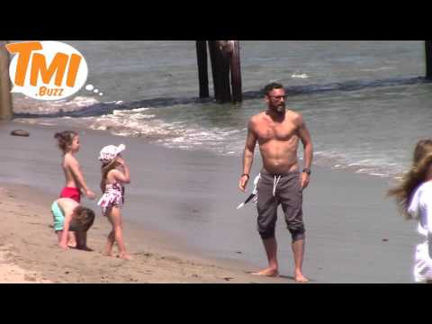 Brian Austin Green Shows Off His Beach Body With Megan Fox and Two Sons