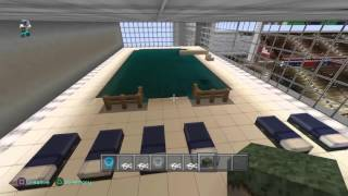 Minecraft Superbowl 50 and Ralph Wilson Stadium Stadiums