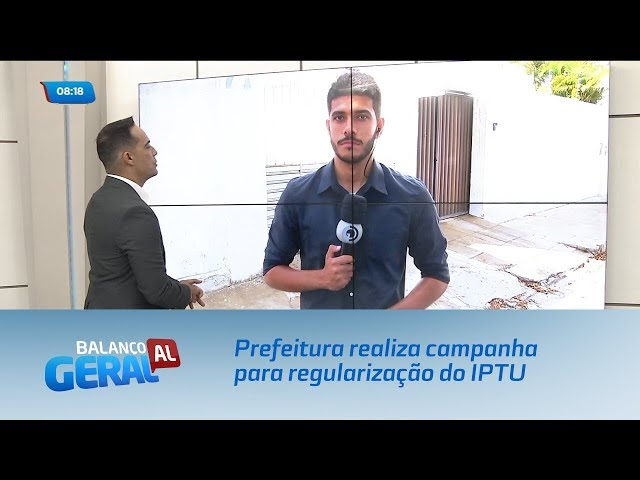 Prefeitura realiza campanha para regularização de pendências com o IPTU