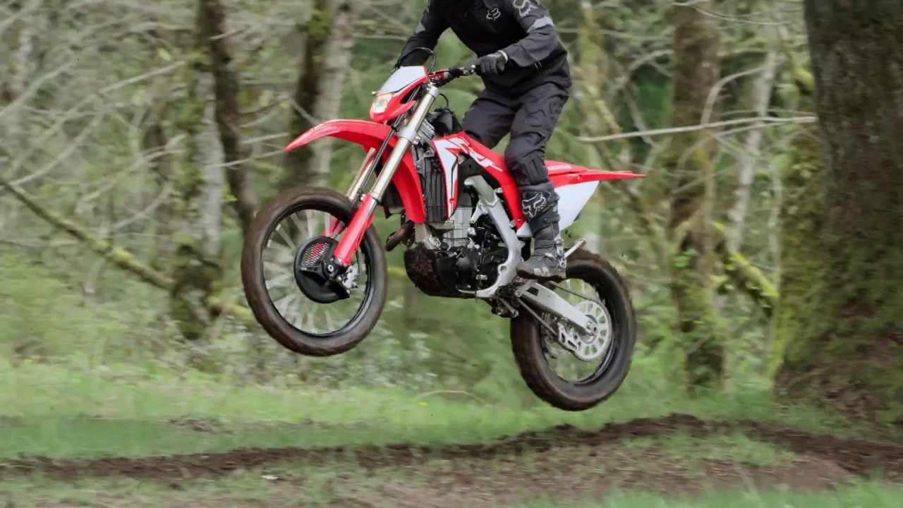 New 2019 Crf450x Redesigned For Absolute Off Road Xcellence Youtube