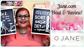 Jane.com Home Ware Haul & Review!