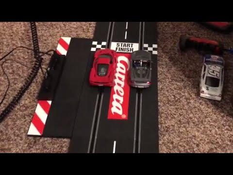 Carrera Slot Cars Race  1:32 Slot car track – Racing Fun!