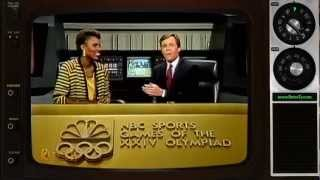 1988 - NBC - Bob Costas and Gina Hemphill-Tillman (Opening Ceremonies Interview)