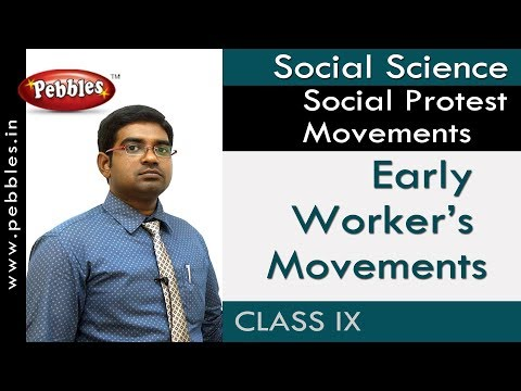 Early Worker's Movements : Social Protest Movements | Social | AP&TS Syllabus | Class 9