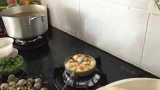 Bánh  trứng cút nướng! Mại dzô!!!