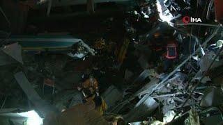 حادث اصطدام قطار سريع بجرار في أنقرة وسقوط قتلى وعشرات الجرجى …