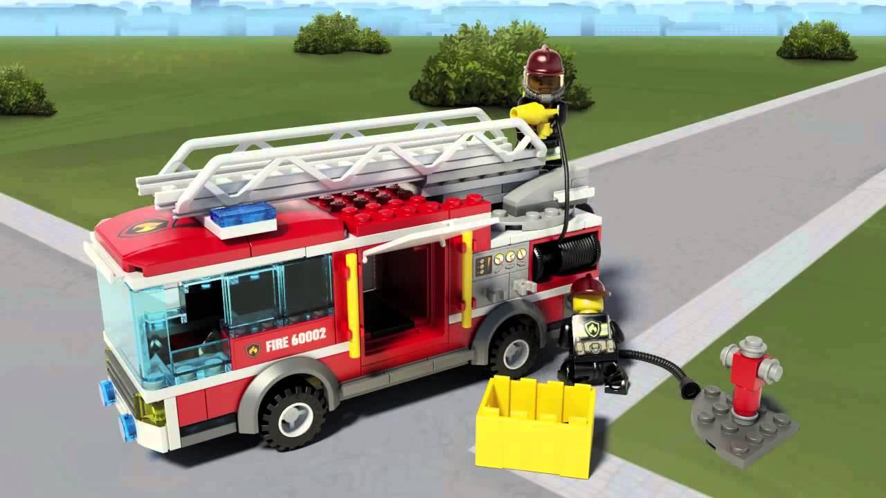 Velsete Fire Truck - LEGO City - 60002 - YouTube BJ-19