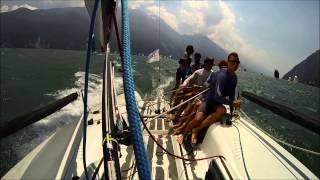 FGF Sailing Team Melges 24 lake garda 2014