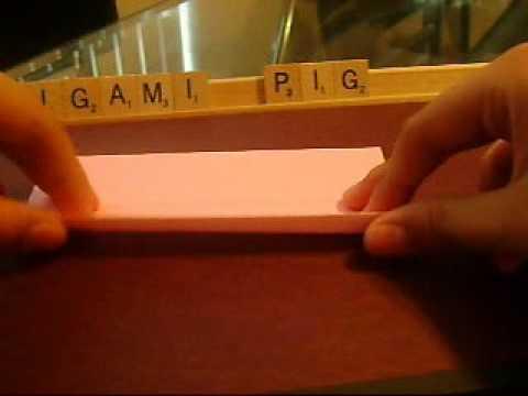 Origami Pig - YouTube - photo#47