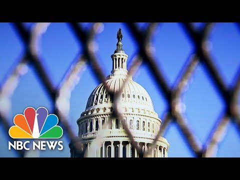 U.S. Secret Service Expands Security Plan For Biden Inauguration | NBC Nightly News