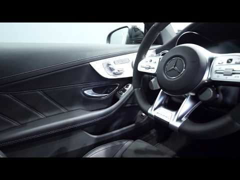 Mercedes-AMG C63S Coupe 2019 Interior and Exterior POV
