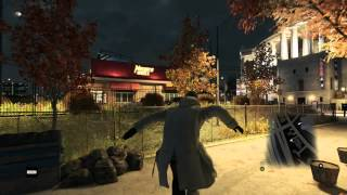 watch dogs free roam - parkour gameplay