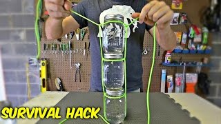 How to Carry Multiple Jars with Paracord
