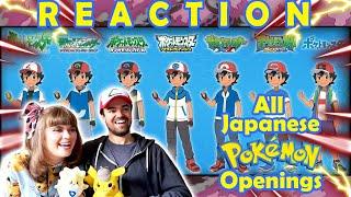 All Japanese Pokémon Openings (1-31) Reaction!!