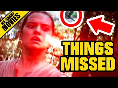 STAR WARS: THE FORCE AWAKENS International Trailer Easter Eggs, References & Things You Missed
