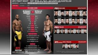 ufc fight night 106 belfort vs gastelum main card full fight predictions picks analysis
