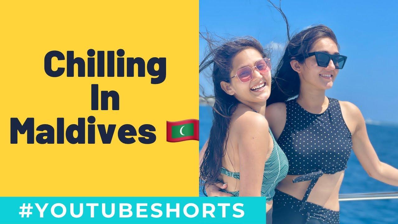 Vacation Time In Maldives | YouTube Shorts | Sharma Sisters | Tanya Sharma | Kritika Sharma