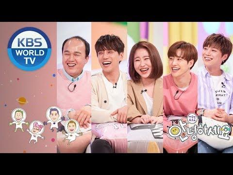 Guests : Hwang Chiyeul, Kim Kwangkyu, Feeldog&Euijin, Jo Hyunah [Hello Counselor/ENG,THA/2018.04.30]