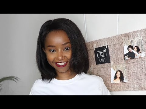 How To Customize a Lace Frontal | Ft. Nadula hair | Wabosha Maxine