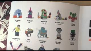 Review Papercraft Monsters: 50 Paper toy art Monsters you can make