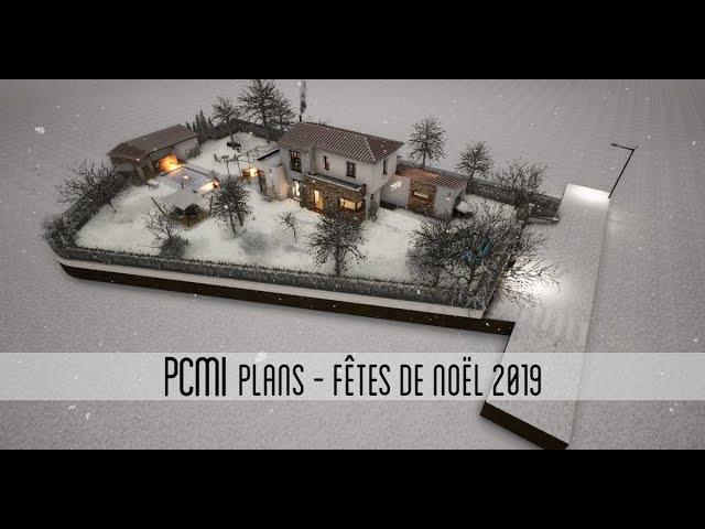 Maison de 123m² dans le Var - PCMI Plans