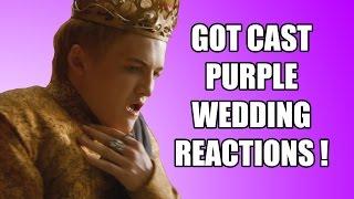 Game of Thrones Purple Wedding Reactions - Tywin, Hodor, Pod, Loras, Pycelle, Davos, Gendry