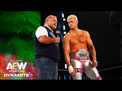 RICKY STARKS ANSWERS THE OPEN CHALLENGE FOR THE TNT CHAMPIONSHIP | AEW DYNAMITE 6/17/20