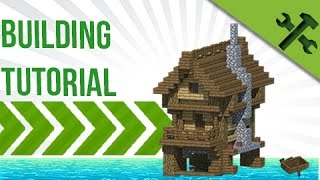 Minecraft: How To Build Easy Ocean/Swamp House!